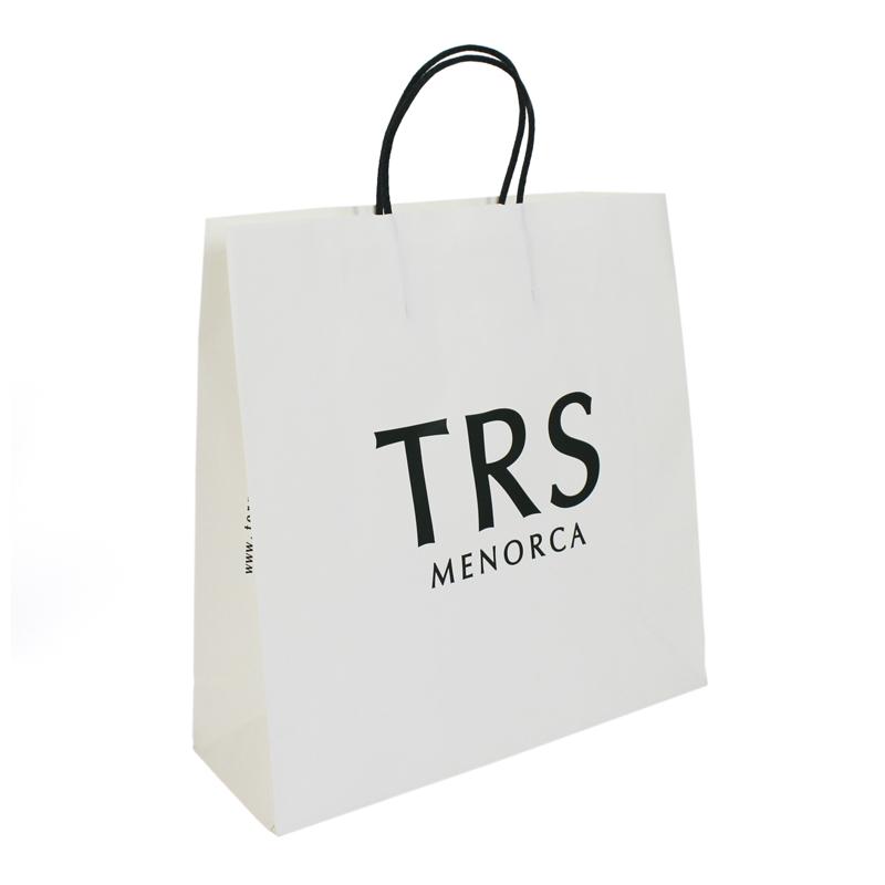bolsa asa retorcida negra TRS