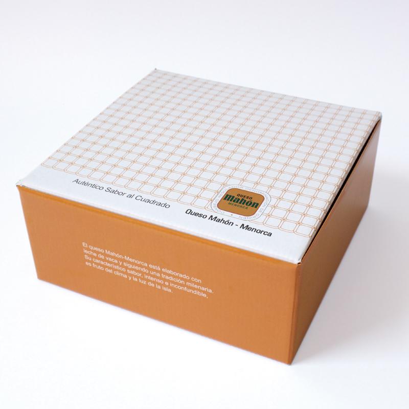 packaging queso mahón