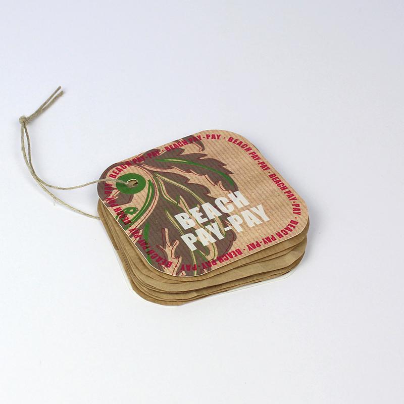 Brintel etiqueta hangtag multiple de papel kraft y carton especial diseño - diseño gráfico - artes gráficas - imprenta - etiquetas - bolsas - packaging - display - imagen - plv