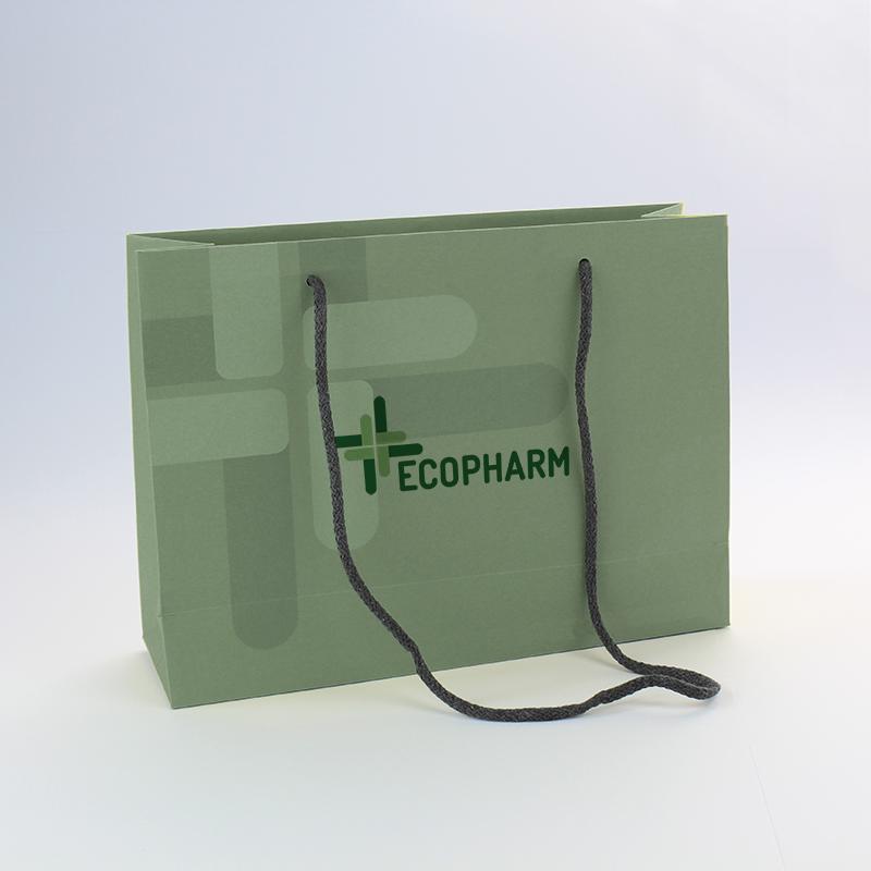 Brintel bolsa regalo de tapa dura plastificada mate con cordon largo diseño - diseño gráfico - artes gráficas - imprenta - etiquetas - bolsas - packaging - display - imagen - plv