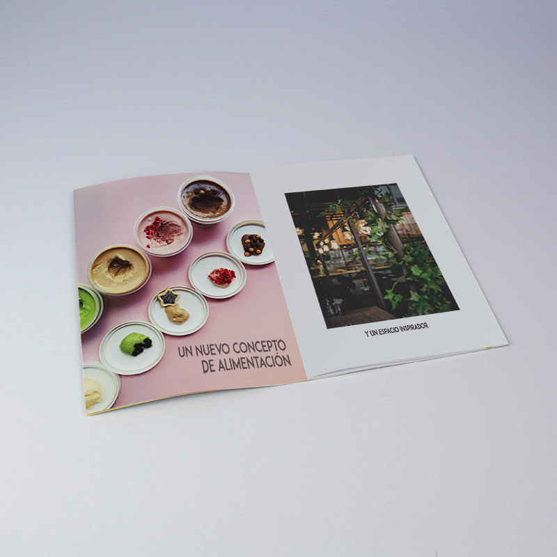 Brintel catálogo cadena alimentación food material estucado y plastificado brillo diseño - diseño gráfico - artes gráficas - imprenta - etiquetas - bolsas - packaging - display - imagen - plv
