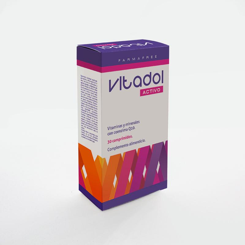 Brintel packaging de vitaminas para adultos y niños offset