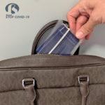 funda porta mascarilla protege bolsos y maletas